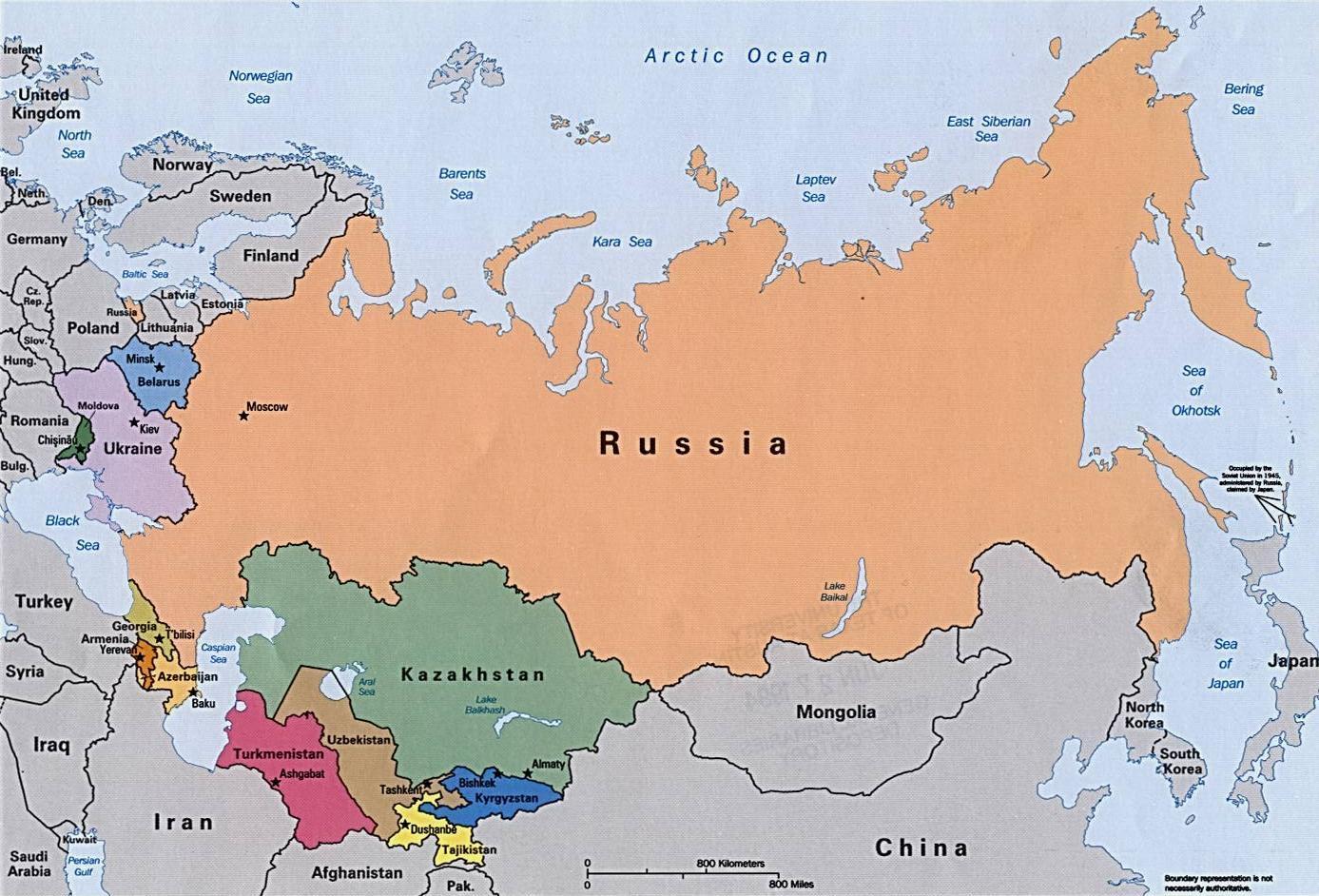 Rusia Peta Benua Eropa Timur Printcetak System Update Altdownload Download